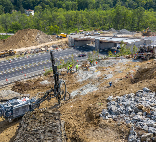 Baystate Blasting - Taconic State Parkway. NY Drone Photography by Photoflight Aerial Media. Subject to copyright ©Photoflight Aerial Media